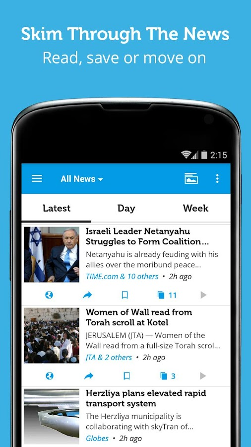 Israel & Middle East News - screenshot