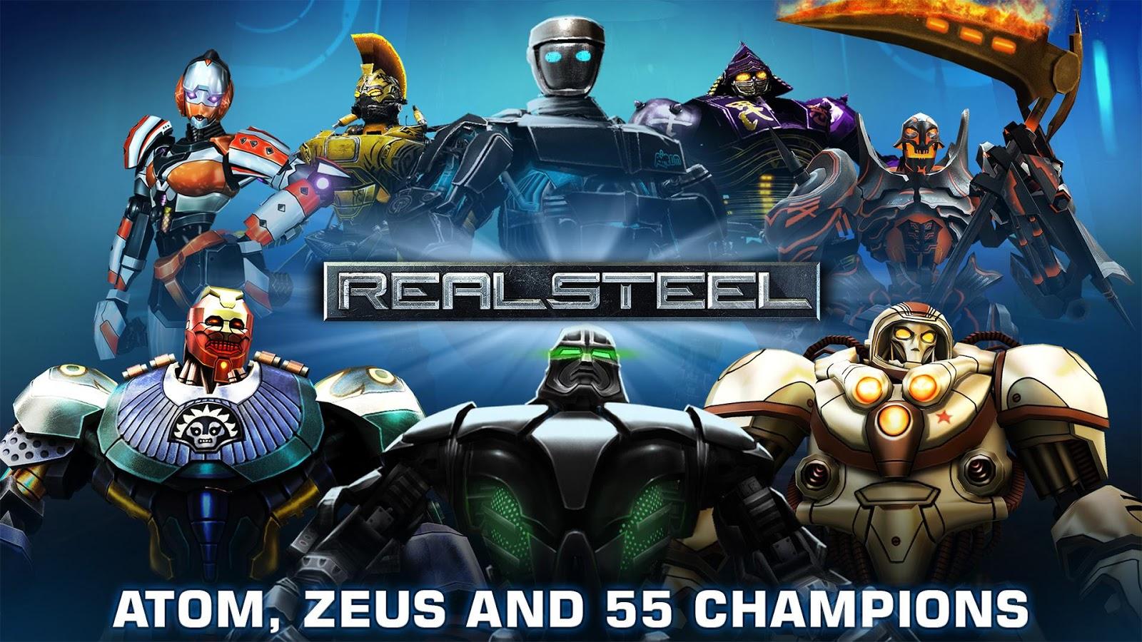 Real Steel- tangkapan layar