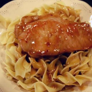 Pork Chops Egg Noodles Recipes