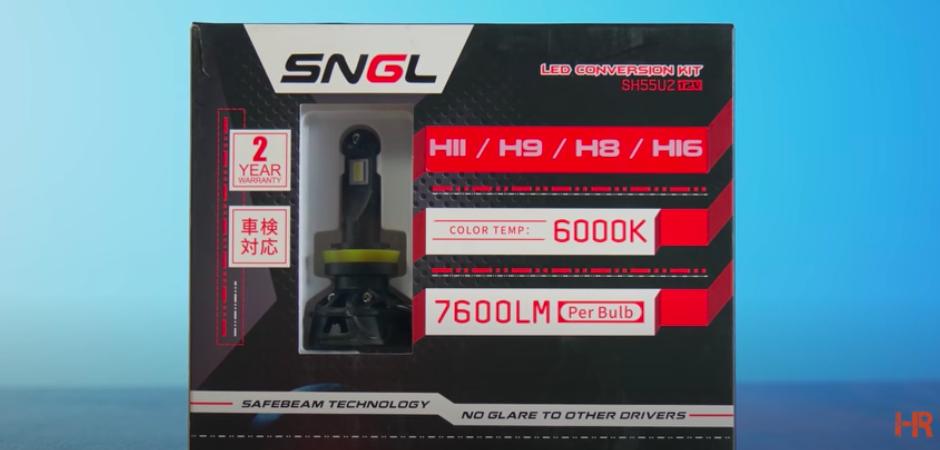 Top 25 Headlight Bulb Shootout - SNGL