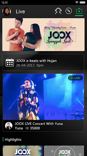 JOOX Music - Free Streaming app (apk) free download for Android/PC/Windows screenshot