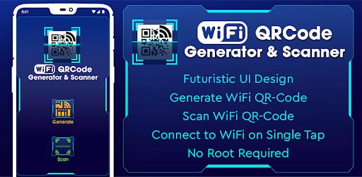 WiFi QR Code Generator & Scanner – Programme op Google Play