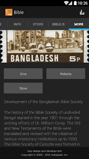 The Bangladesh Bible Society - náhled