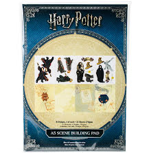 Harry Potter A5 Scene Building Pad 32/Pkg