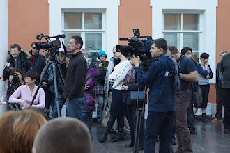"""Photo: """"Гранд Ассо 2011"""". Фестиваль классического фехтования в С.-Петербурге. Телевидение."""