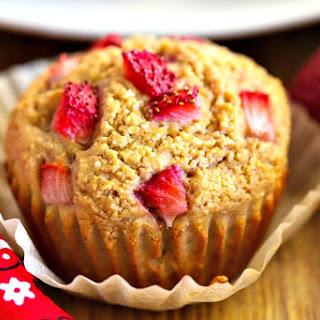 Strawberry Muffins {gluten free}.