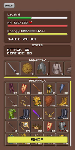 Simplest RPG Game - Text Adventure 1.5.10 screenshots 2