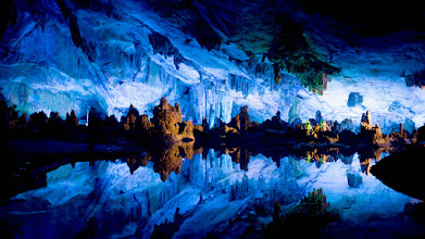 Photo: Yangshuo, China --- Crystal Palace of Reed Flute Cave in Guilin, Guangxi Province, China --- Image by © Imagemore Co., Ltd./Corbis