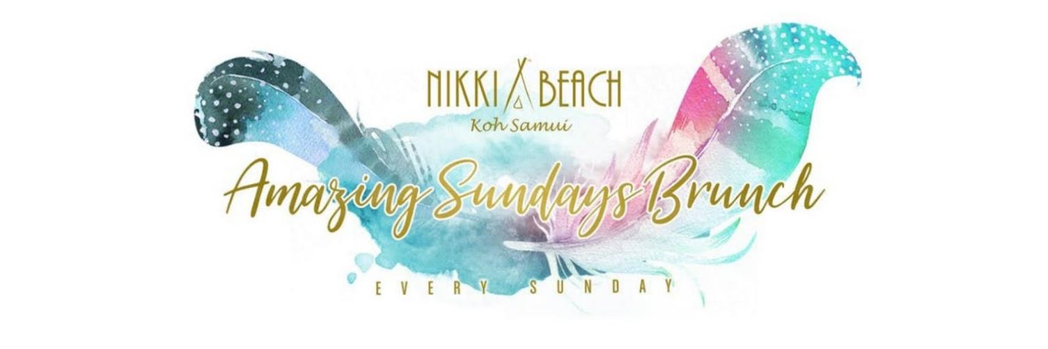 NIKKI BEACH KOH SAMUI: AMAZING SUNDAY BRUNCH, FEBRUARY 10th, 2019