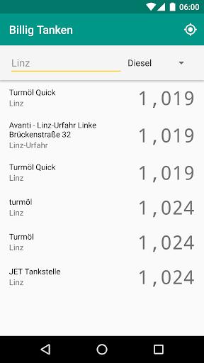 Billig Tanken AT screenshot 1