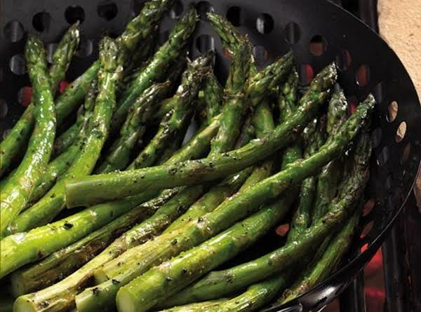 Grilled Lemon-pepper Asparagus Recipe