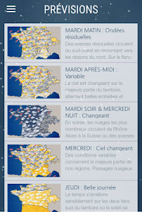 Météo Express- screenshot thumbnail
