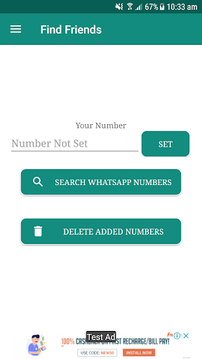 Number Share And Friend Search for WhatsApp for PC