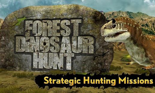 Forest Dinosaur Hunt screenshot