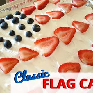 Classic Flag Cake