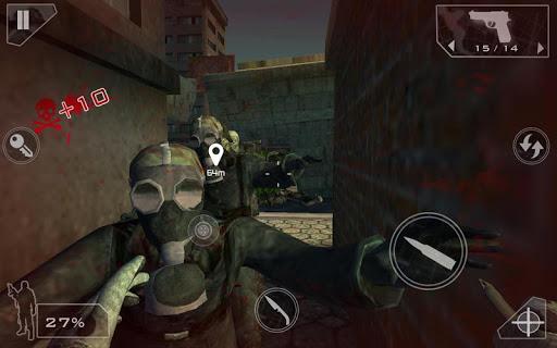 Green Force: Zombies HD  screenshots 23