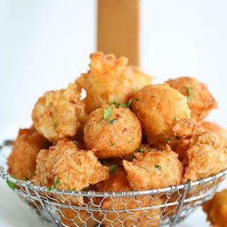 Salt Fish Fritters.