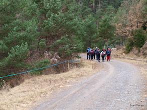Photo: Baixem bona estona pel camí de Sant Joan de l'Avellanet