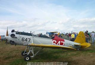 Photo: Schaffen Fly in 2013 08 17 Ryan Aeronautical ST3KR C/N 1676 F-AZNO