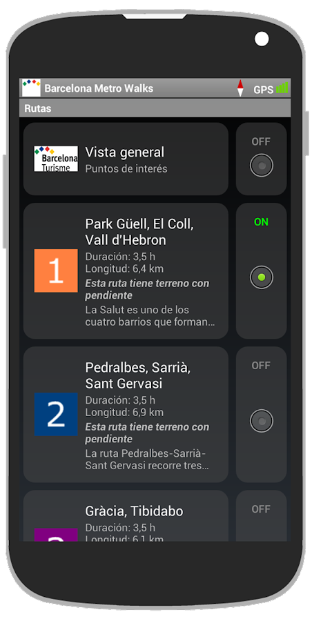 Barcelona Metro Walks - ES- screenshot