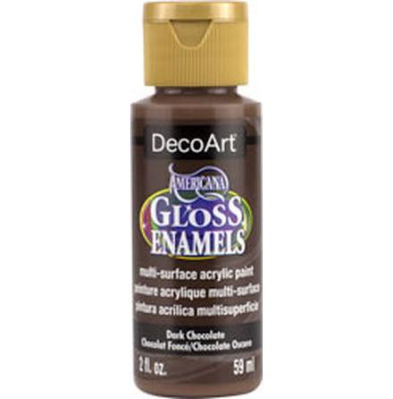 Glasfärg - Dark Chocolate