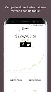 Bitso Price - náhled