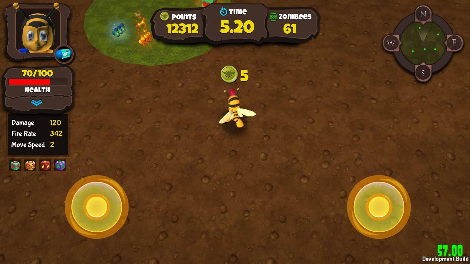 ZomBees - Bee The Swarm- screenshot
