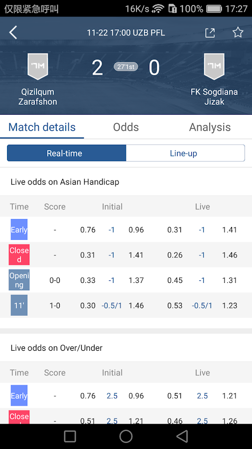 7M Live Scores Pro - News&Odds- screenshot