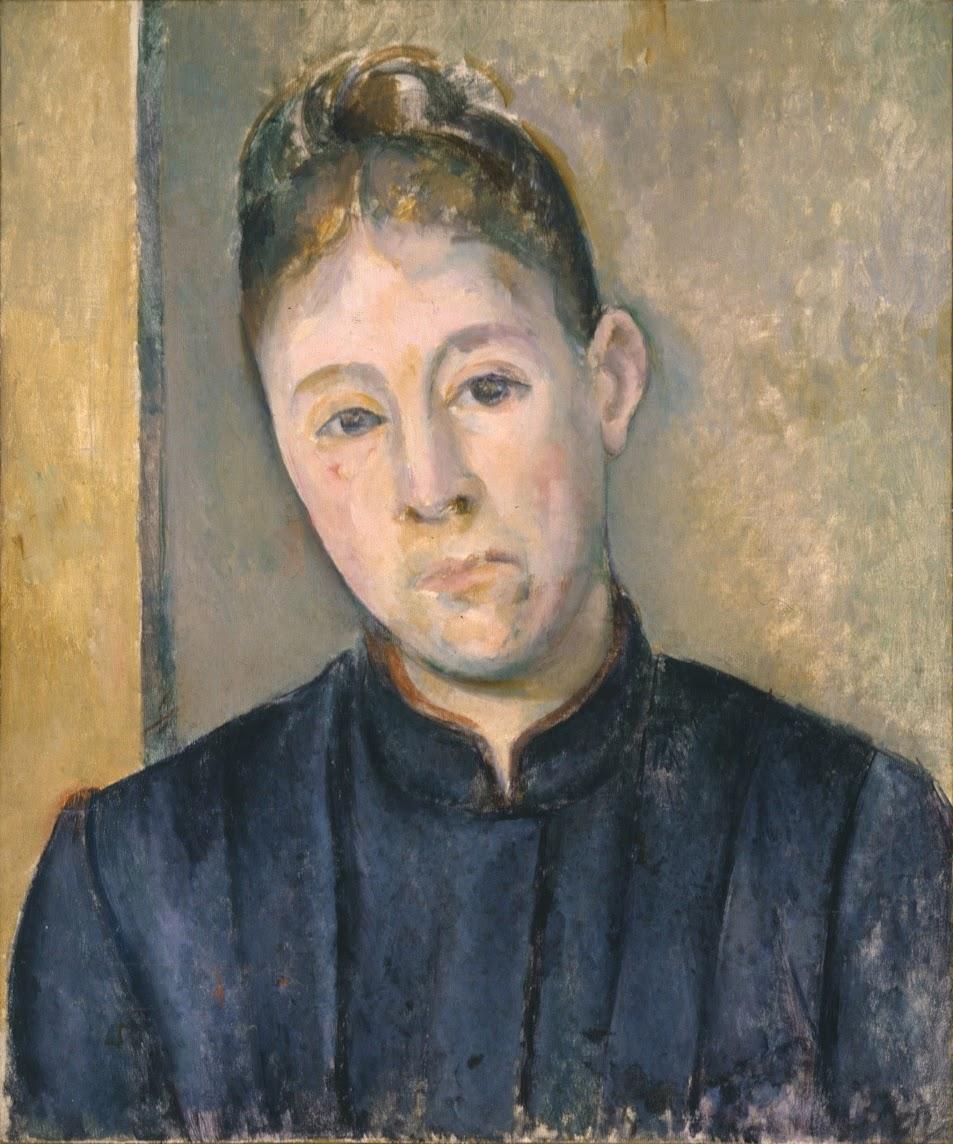 Портрет жены работы Поля Сезанна