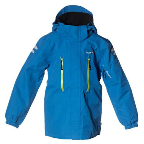 Isbjörn of Sweden Climber Hard Shell Jacket Blue