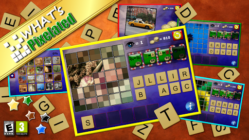What's Pixelated - word puzzle screenshot 1