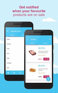 SaleWhale - grocery flyers- screenshot thumbnail