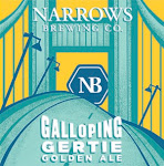 Narrows Galloping Gertie Golden Ale