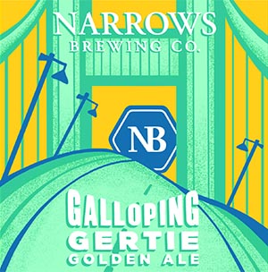 Logo of Narrows Galloping Gertie Golden Ale