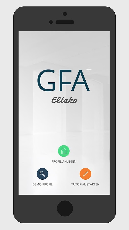 Eltako GFA- screenshot