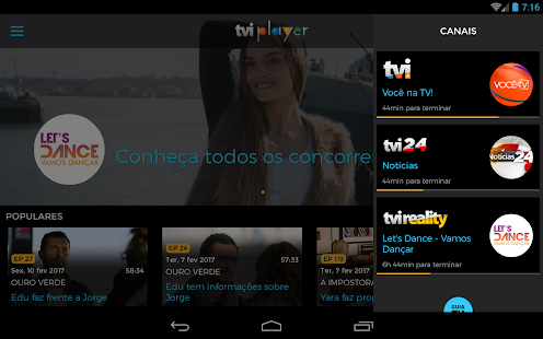 TVI Player- screenshot thumbnail