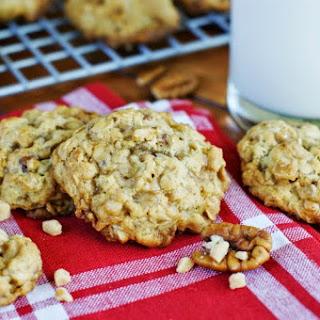Toffee Oatmeal Cookies.