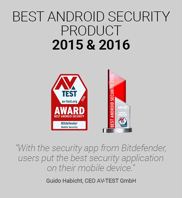 Bitdefender Mobile Security & Antivirus- screenshot