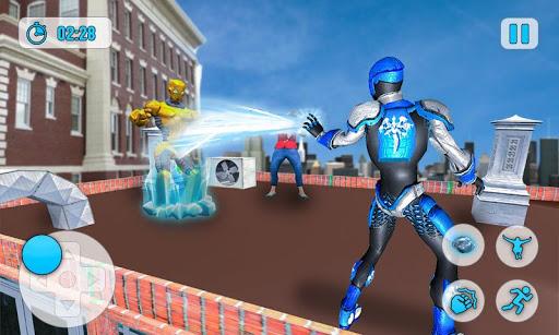 Superhero Frost Man City Rescue: Snowstorm Game 1.0.7 screenshots 2