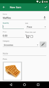Shopping List - SoftList