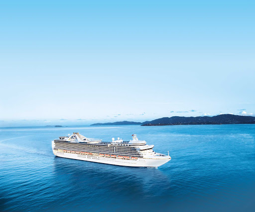 crown-princess-at-sea.jpg - Crown Princess sails in and out of the U.S. West Coast, British Colombia, Alaska, Mexico, Hawaii and the South Pacific.