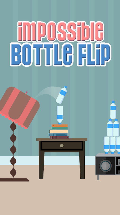 Impossible Bottle Flip- screenshot