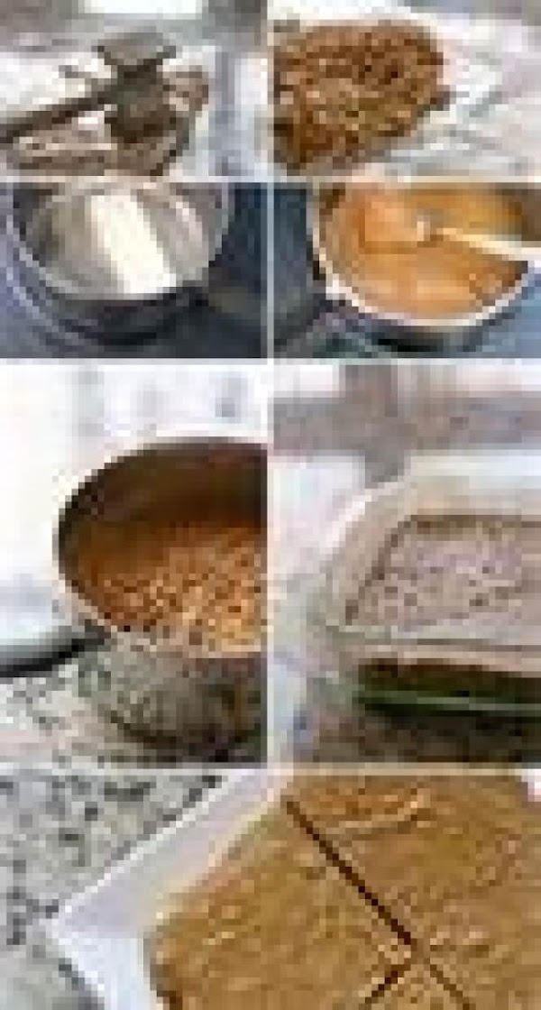 """Turn dough onto a waxed paper lined 13x9"""" pan. Or you can store in..."""