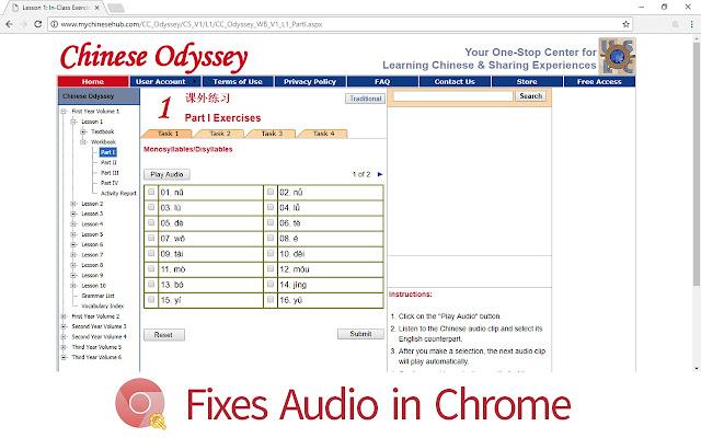 Chinese Odyssey Fix