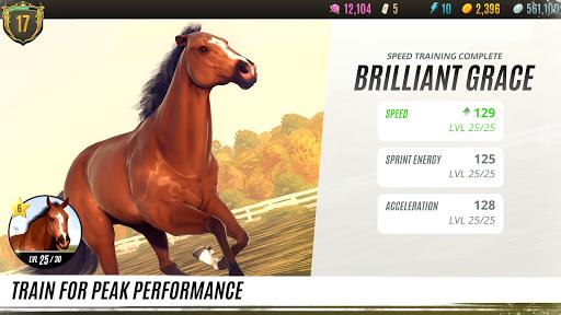 Rival Stars Horse Racing apkslow screenshots 4