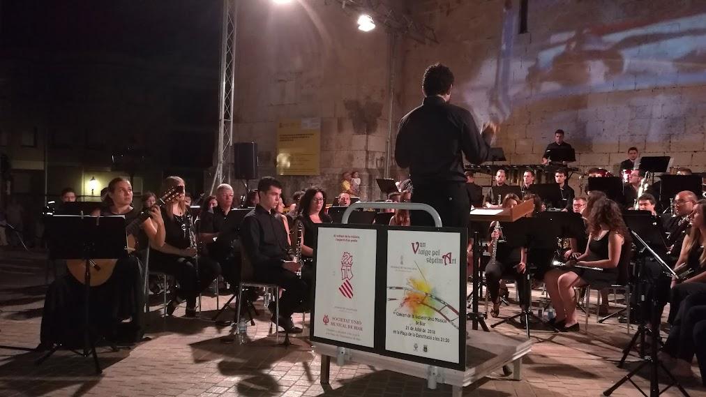 Las Sociedades Musicales conmemoran el 600º aniversario de la Generalitat Valenciana