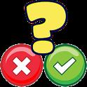 Quiz TRUE or FALSE icon