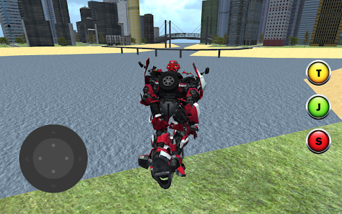X Ray Flying Car Robot 3D- screenshot thumbnail
