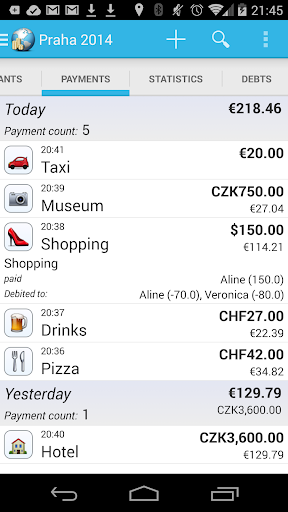 Travel Money screenshot 2