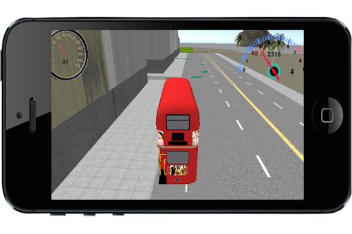 Double Decker Bus Parking 3D